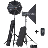 Elinchrom BRX 500/500 2-Light To Go Set with Bag